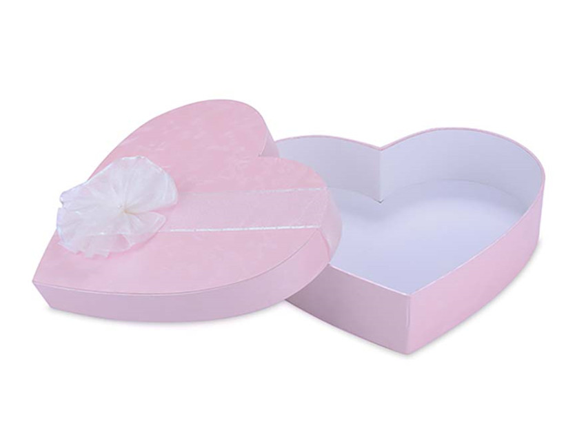 Pink Heart Shape Box