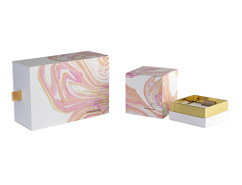 Pink Cosmetic Rigid Box
