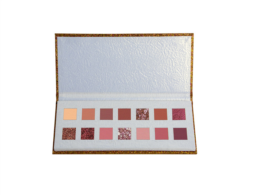 Golden Cardboard Eyeshadow Palette