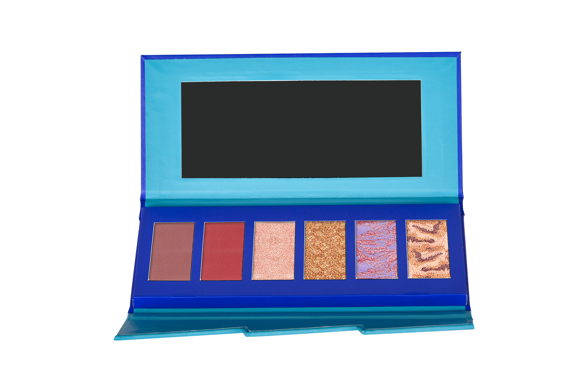 Sea Color Cardboard Eyeshadow Palette